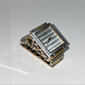 Vintage Women's Gold & Silver Mathey Tissot Watch